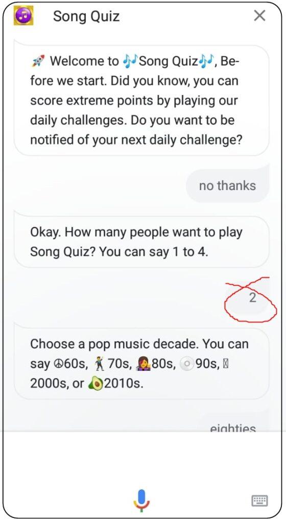 google song quiz